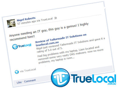testimonial - TrueLocal Reviews